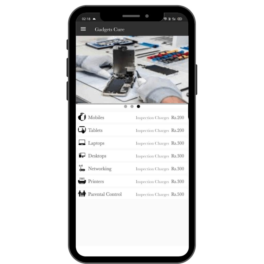 Download GadgetsCure Mobile App